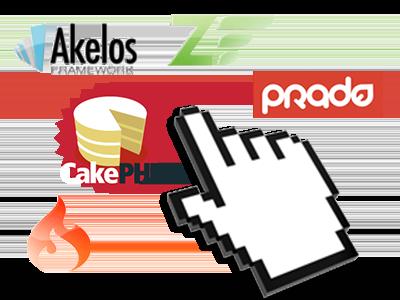 1-click PHP framework installation